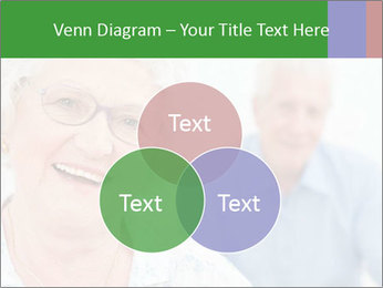 Smiling Retired Couple PowerPoint Template - Slide 33