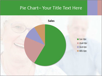 Smiling Retired Couple PowerPoint Template - Slide 36