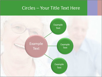 Smiling Retired Couple PowerPoint Template - Slide 79