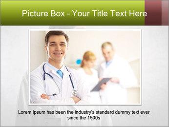 Doctor's Portrait PowerPoint Templates - Slide 16