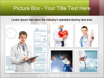 Doctor's Portrait PowerPoint Templates - Slide 19