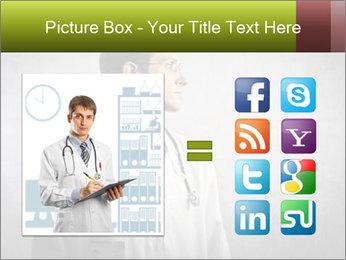 Doctor's Portrait PowerPoint Templates - Slide 21