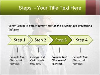 Doctor's Portrait PowerPoint Templates - Slide 4