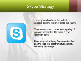 Doctor's Portrait PowerPoint Templates - Slide 8