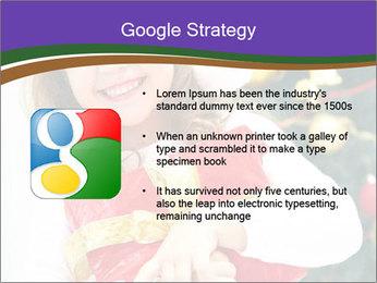 Santa Girl PowerPoint Template - Slide 10
