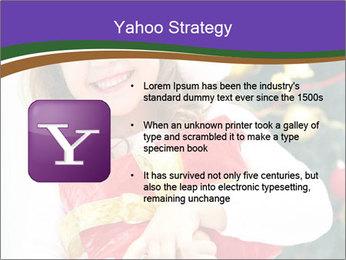 Santa Girl PowerPoint Template - Slide 11