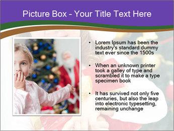Santa Girl PowerPoint Template - Slide 13