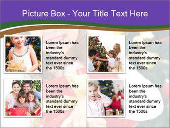 Santa Girl PowerPoint Template - Slide 14