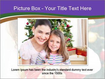 Santa Girl PowerPoint Template - Slide 15