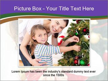Santa Girl PowerPoint Template - Slide 16