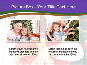 Santa Girl PowerPoint Template - Slide 18