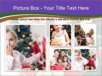 Santa Girl PowerPoint Template - Slide 19