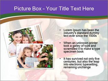 Santa Girl PowerPoint Template - Slide 20