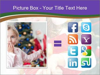Santa Girl PowerPoint Template - Slide 21