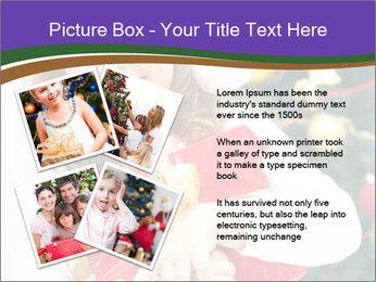 Santa Girl PowerPoint Template - Slide 23