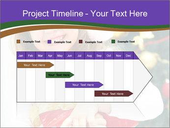 Santa Girl PowerPoint Template - Slide 25