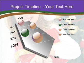 Santa Girl PowerPoint Template - Slide 26