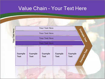 Santa Girl PowerPoint Template - Slide 27