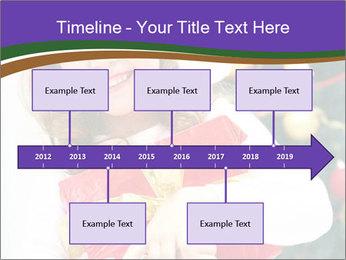 Santa Girl PowerPoint Template - Slide 28