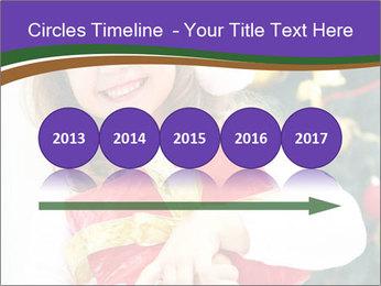 Santa Girl PowerPoint Template - Slide 29