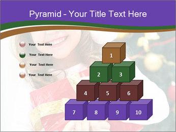Santa Girl PowerPoint Template - Slide 31
