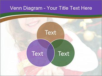 Santa Girl PowerPoint Template - Slide 33