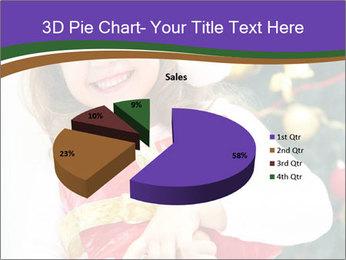 Santa Girl PowerPoint Template - Slide 35