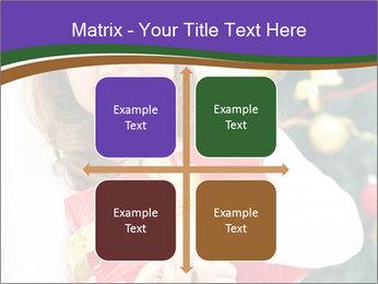 Santa Girl PowerPoint Template - Slide 37