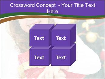 Santa Girl PowerPoint Template - Slide 39
