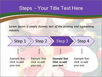 Santa Girl PowerPoint Template - Slide 4