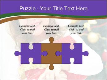Santa Girl PowerPoint Template - Slide 42