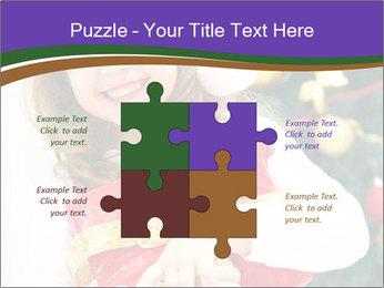 Santa Girl PowerPoint Template - Slide 43