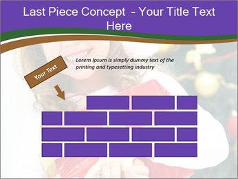 Santa Girl PowerPoint Template - Slide 46