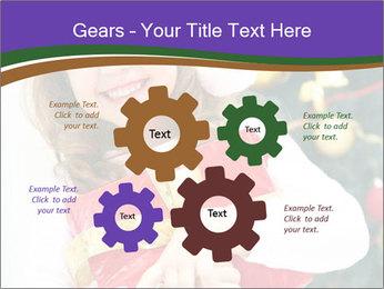 Santa Girl PowerPoint Template - Slide 47