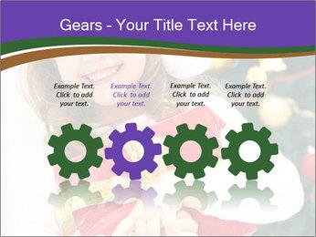 Santa Girl PowerPoint Template - Slide 48