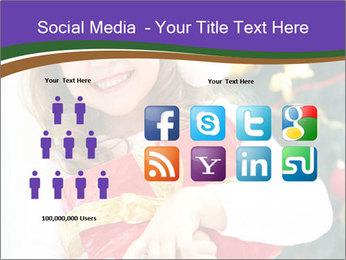 Santa Girl PowerPoint Template - Slide 5