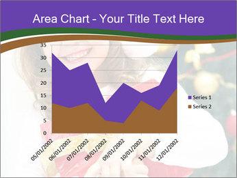 Santa Girl PowerPoint Template - Slide 53