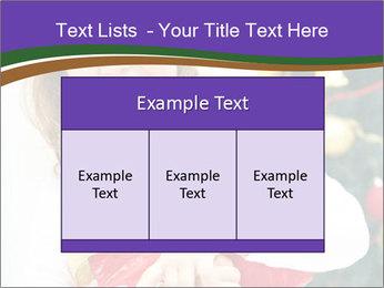Santa Girl PowerPoint Template - Slide 59