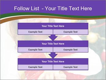 Santa Girl PowerPoint Template - Slide 60