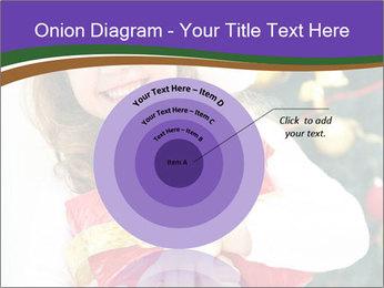 Santa Girl PowerPoint Template - Slide 61