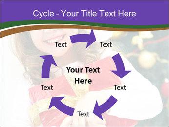 Santa Girl PowerPoint Template - Slide 62