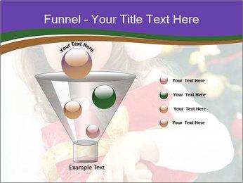 Santa Girl PowerPoint Template - Slide 63