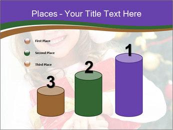 Santa Girl PowerPoint Template - Slide 65