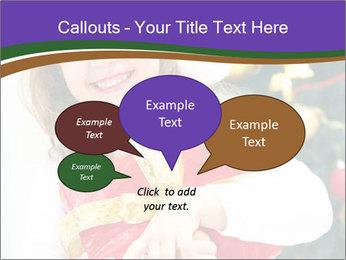 Santa Girl PowerPoint Template - Slide 73