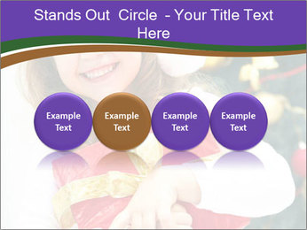 Santa Girl PowerPoint Template - Slide 76
