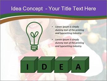 Santa Girl PowerPoint Template - Slide 80