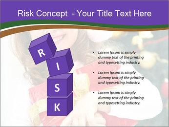 Santa Girl PowerPoint Template - Slide 81