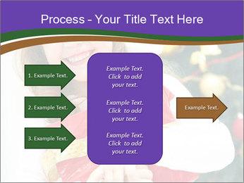 Santa Girl PowerPoint Template - Slide 85