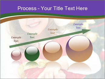 Santa Girl PowerPoint Template - Slide 87