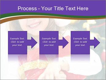 Santa Girl PowerPoint Template - Slide 88